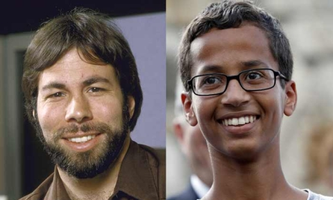 Blowing Up: the curious parallel between Ahmed Mohamed & Wozniak