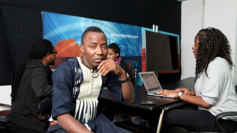 Omoleye Sowore, Publisher of the Sahara Reporters