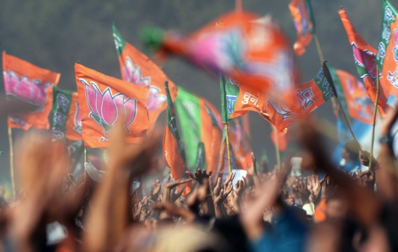 BJP flags/Getty Images