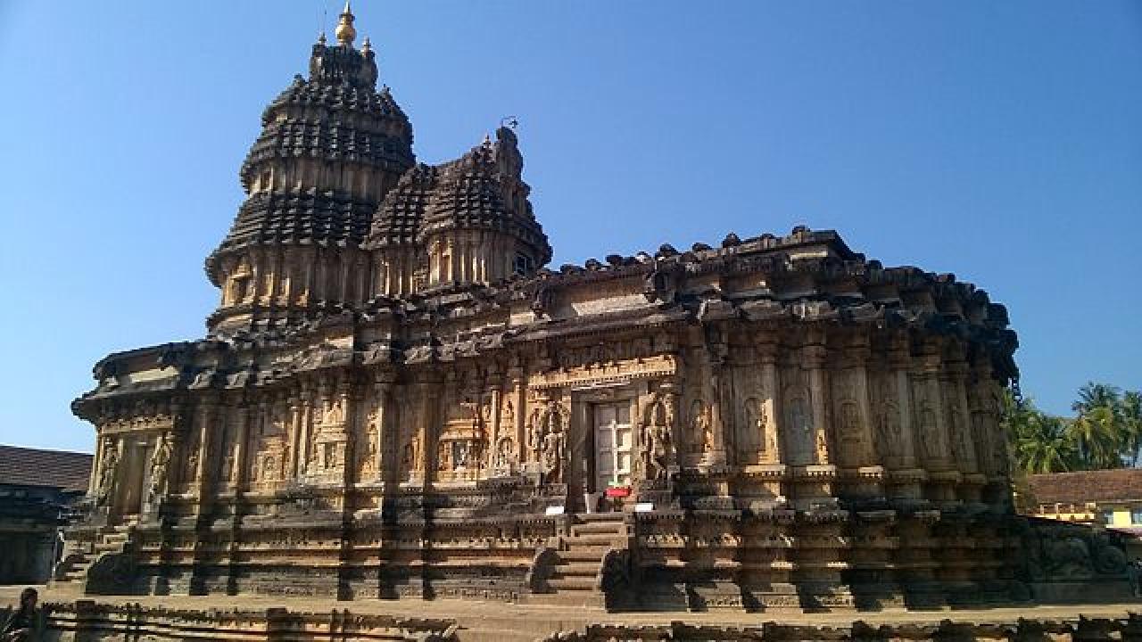 (Temple at Sringeri)