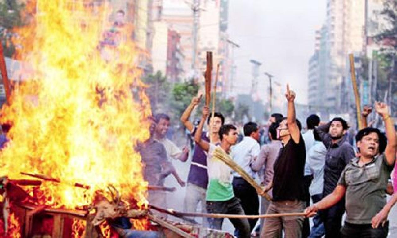 "47 temples, 700 Hindu houses burnt across Bangladesh. Photo Credit: <a href=""http://himachalwatcher.com/discussion/47-temples-700-hindu-houses-burnt-across-bangladesh/"" shape=""rect"">Himachalwatcher</a>"