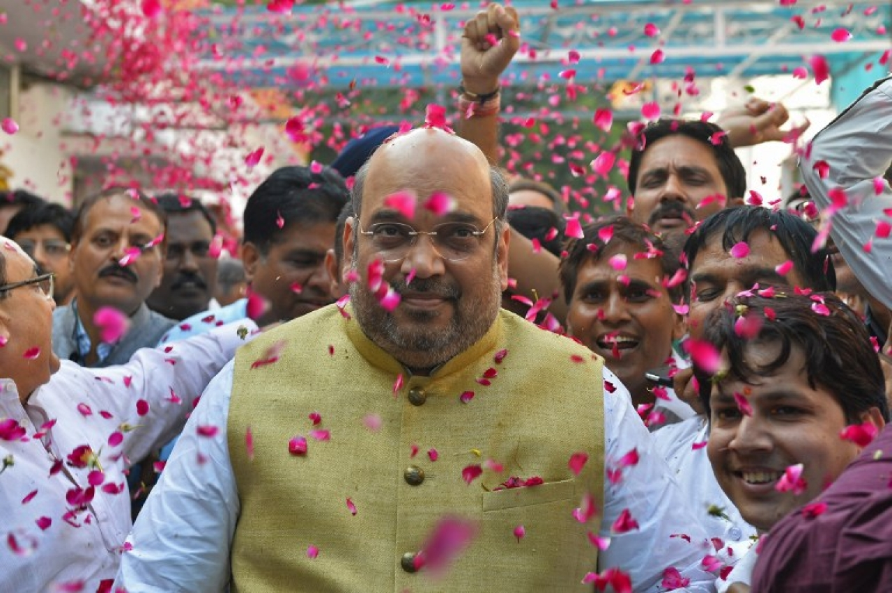 BJP president Amit Shah. (GettyImages)