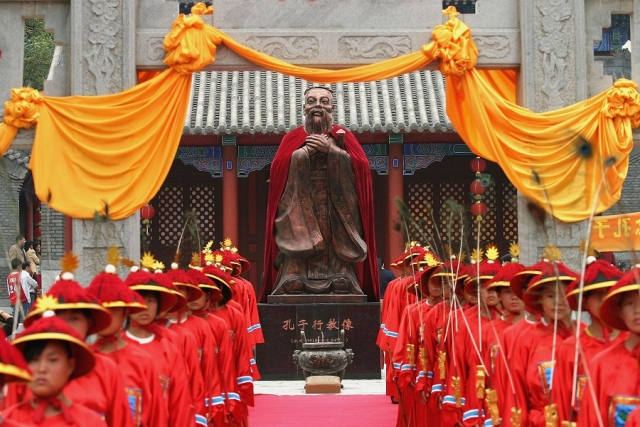 Why is the Communist Party so focussed on reviving Confucianism after relegating Confucius to the corner?