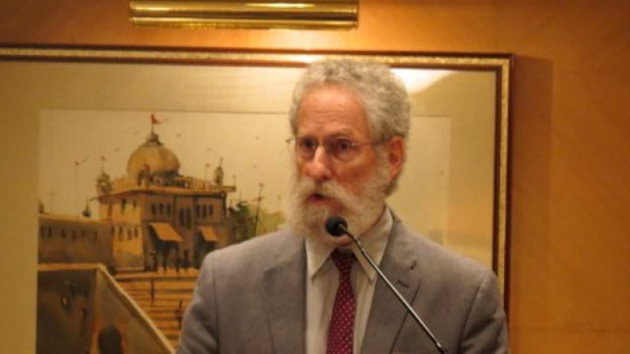 Sheldon Pollock, head of the Murty Classical Library of India and professor at Columbia University,  known to be biased and disapproving of experiential dharmic narratives.