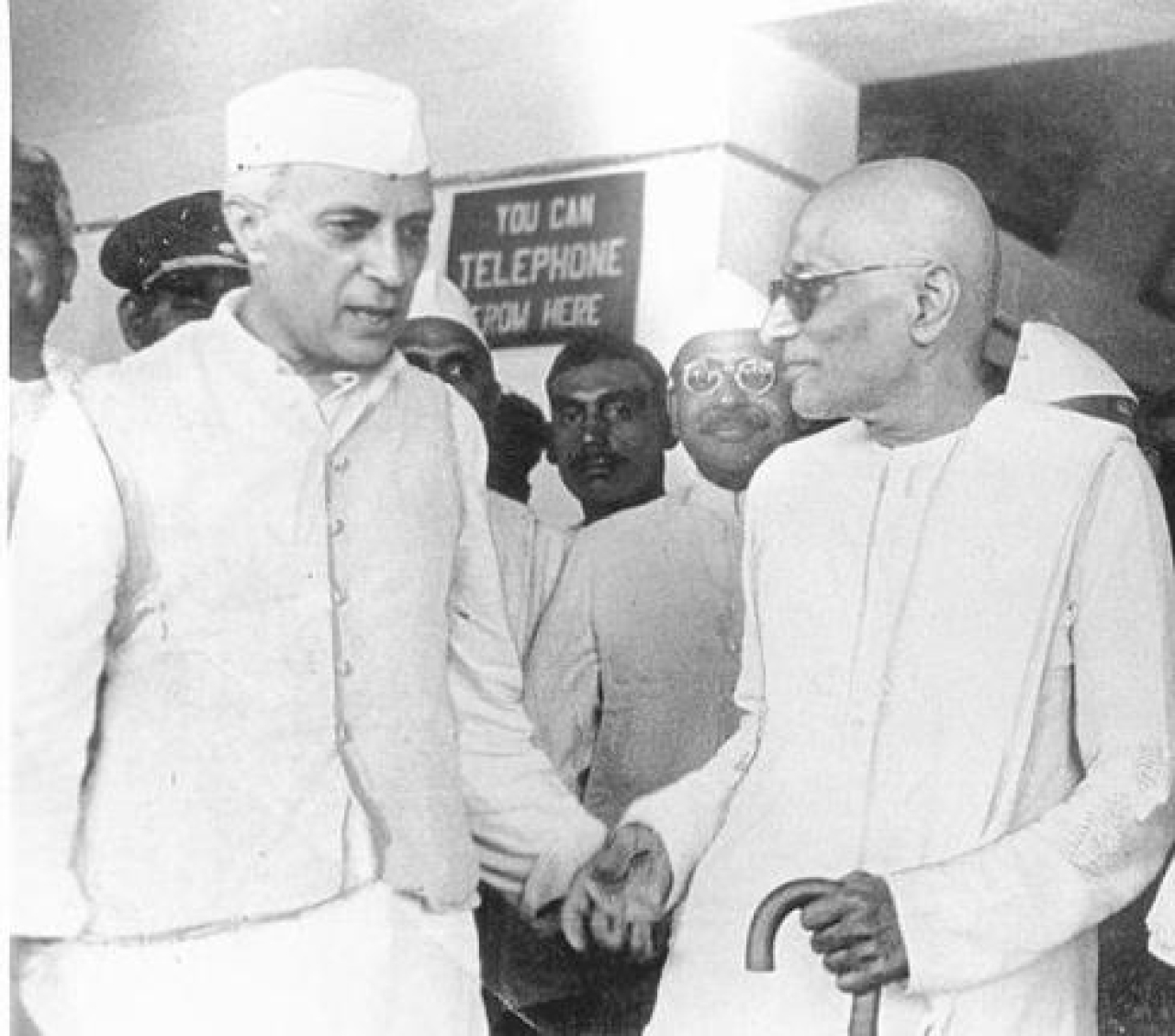 Nehru with Rajaji
