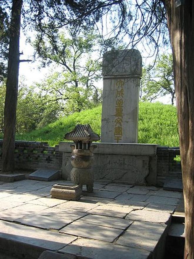 Tomb Of Confucius in Qufu