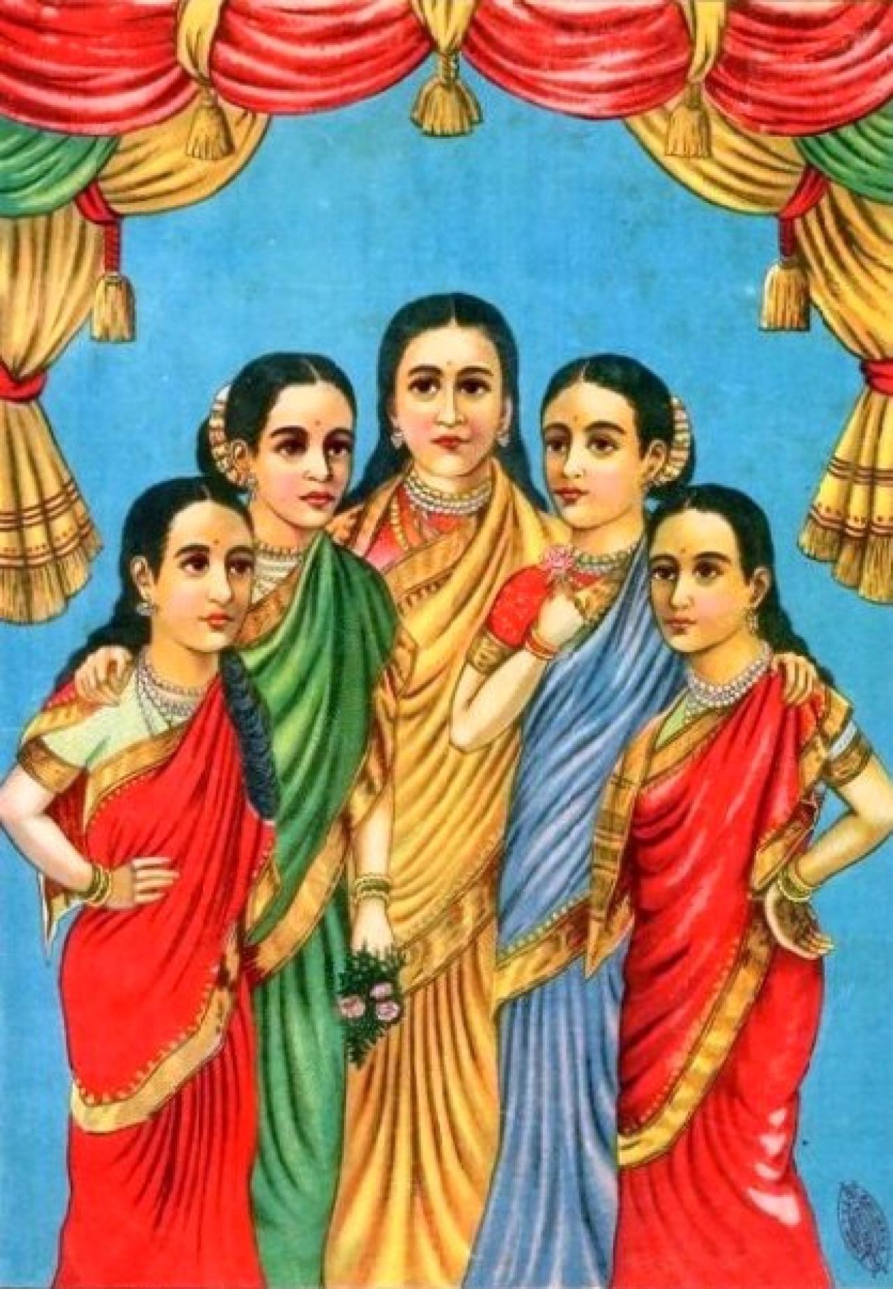 Panchakanya/Photo credits: Wikipedia