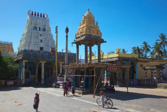 Kalyana varadharaja perumal temple, Kanchipuram/Getty Images