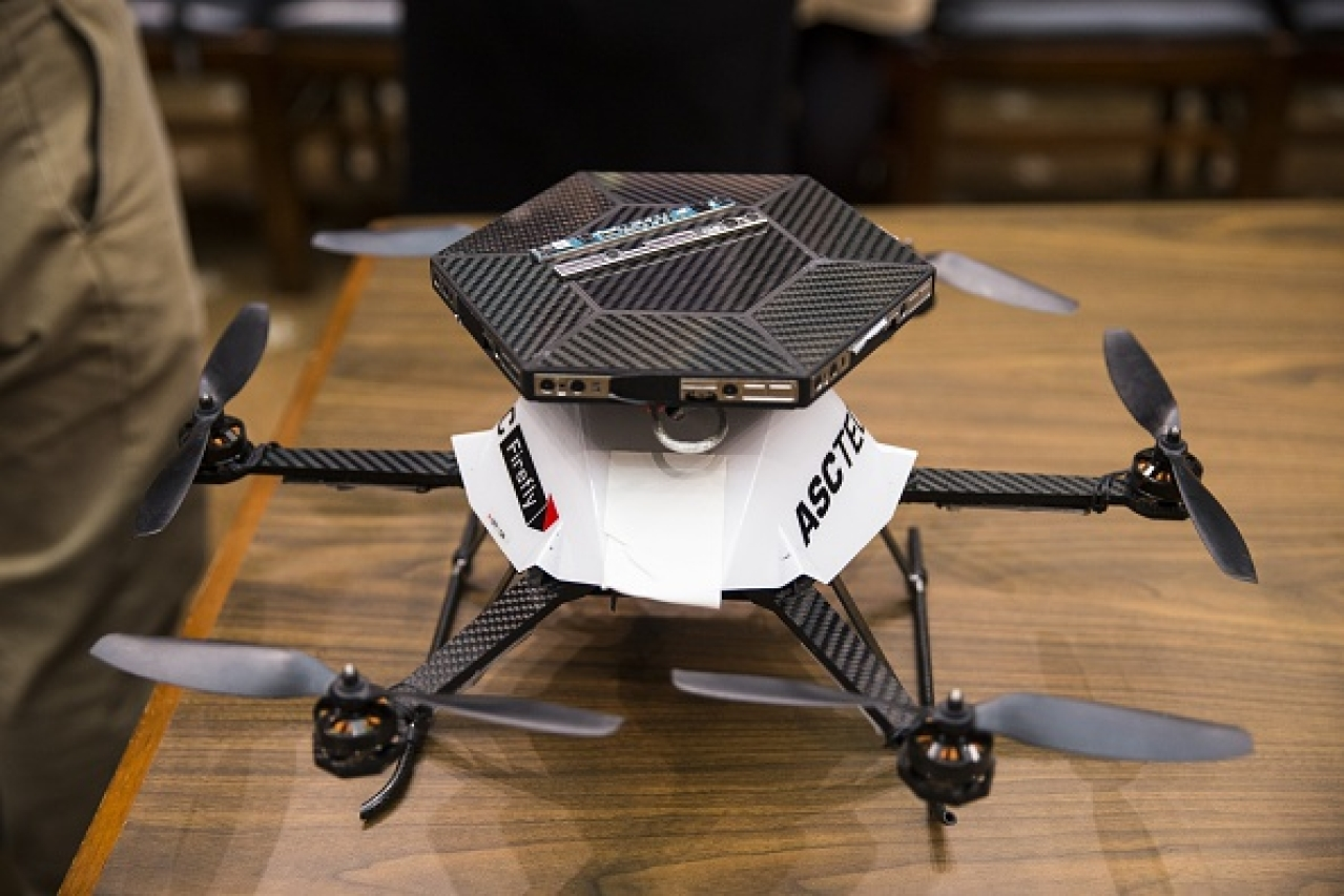 Asctec's Hexacopter Drone/Getty Images
