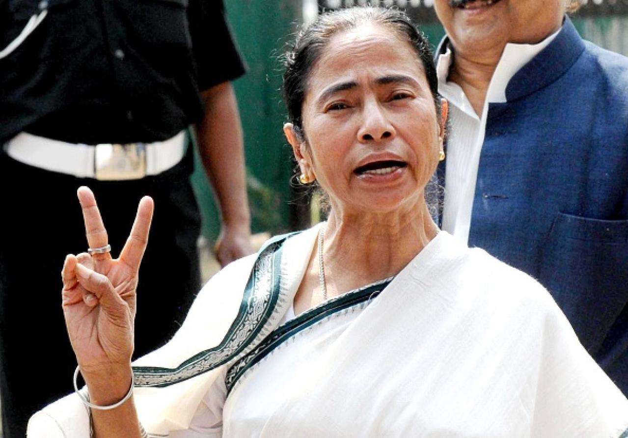 Mamata Banerjee (Subhankar Chakraborty/Hindustan Times via Getty Images)