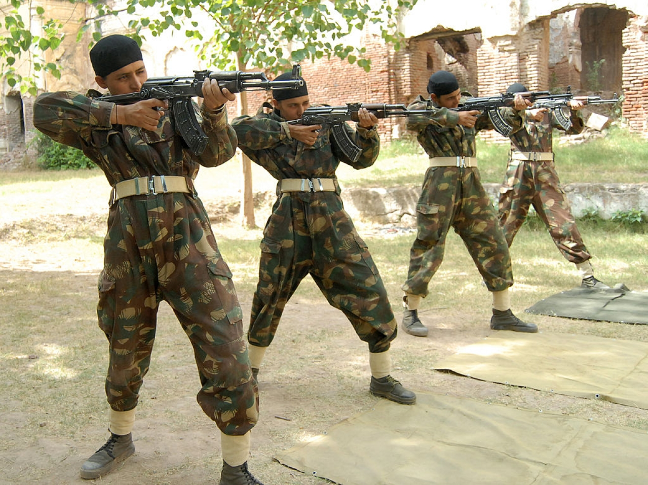 Central Armed Police Force (CAPF) /gettyimages