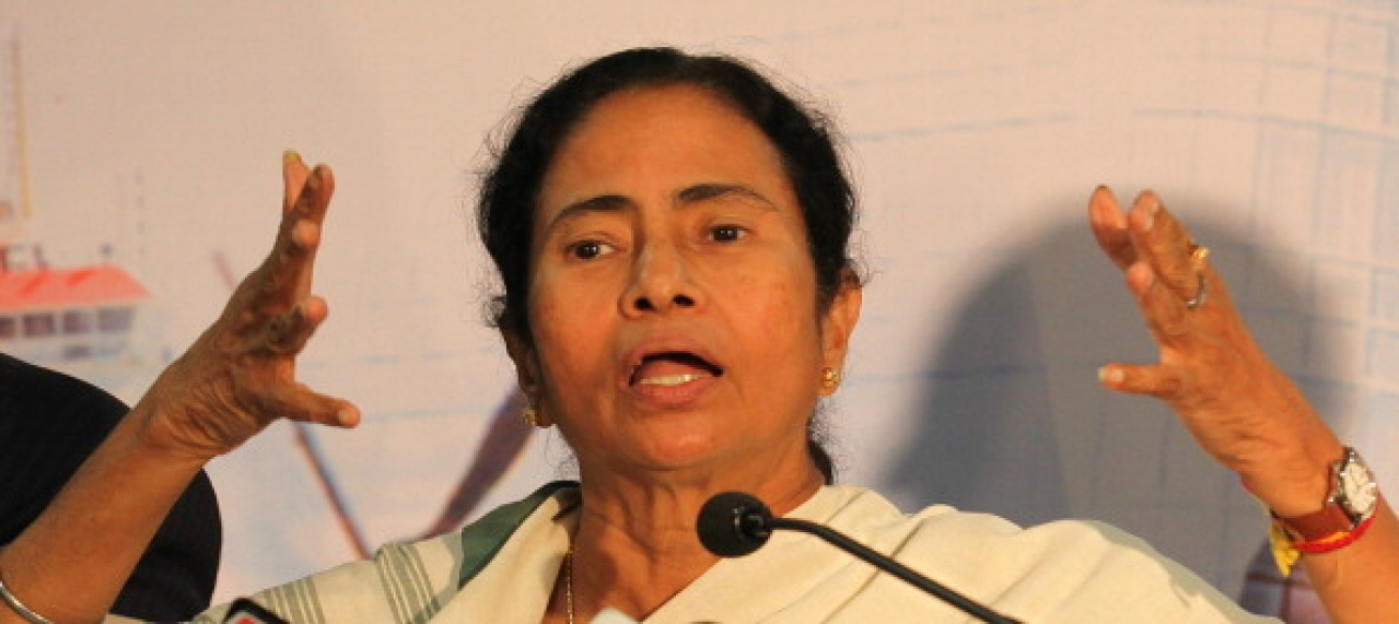 Mamata Banerjee (Vijayaannd Gupta/Hindustan Times via Getty Images)