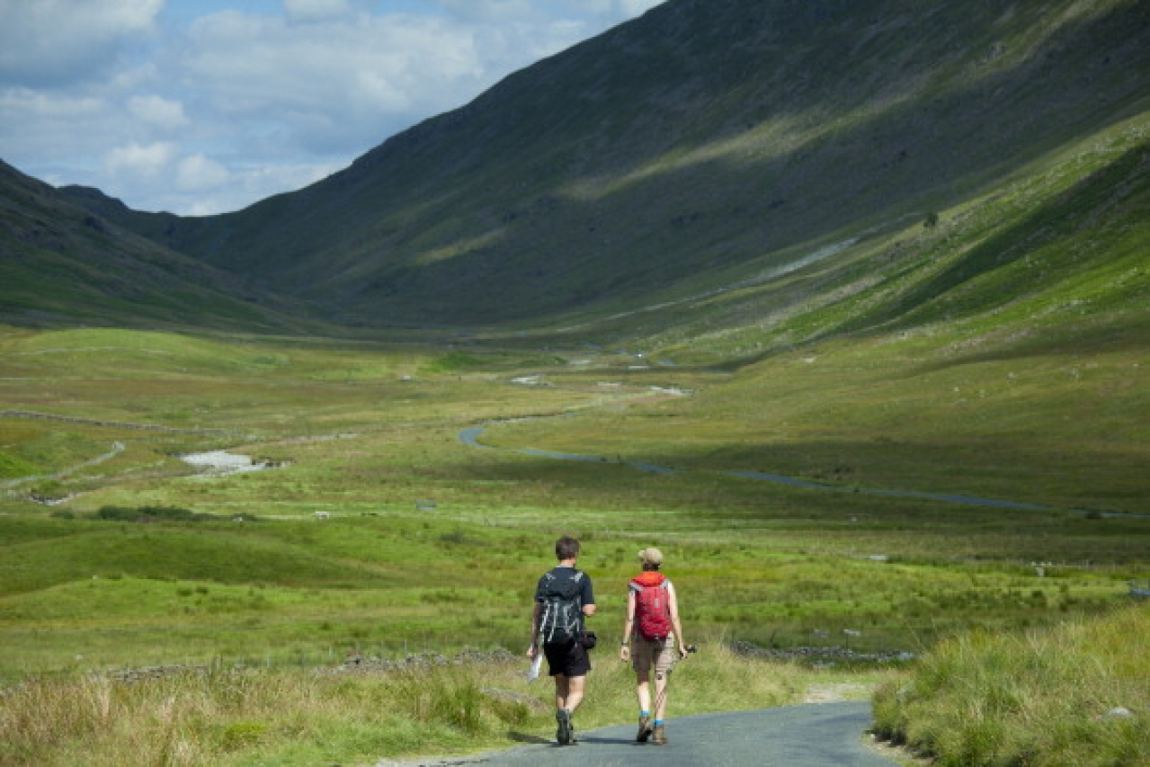Walkers in the wild (Tim Graham/Getty Images)