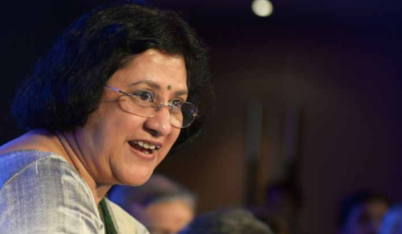 "Says Arundhati  Bhattacharya,  SBI Chief:  ""When  something  goes bad,  resolution the  world over  happens in six- nine months'  time. Here it  goes on for  years."""