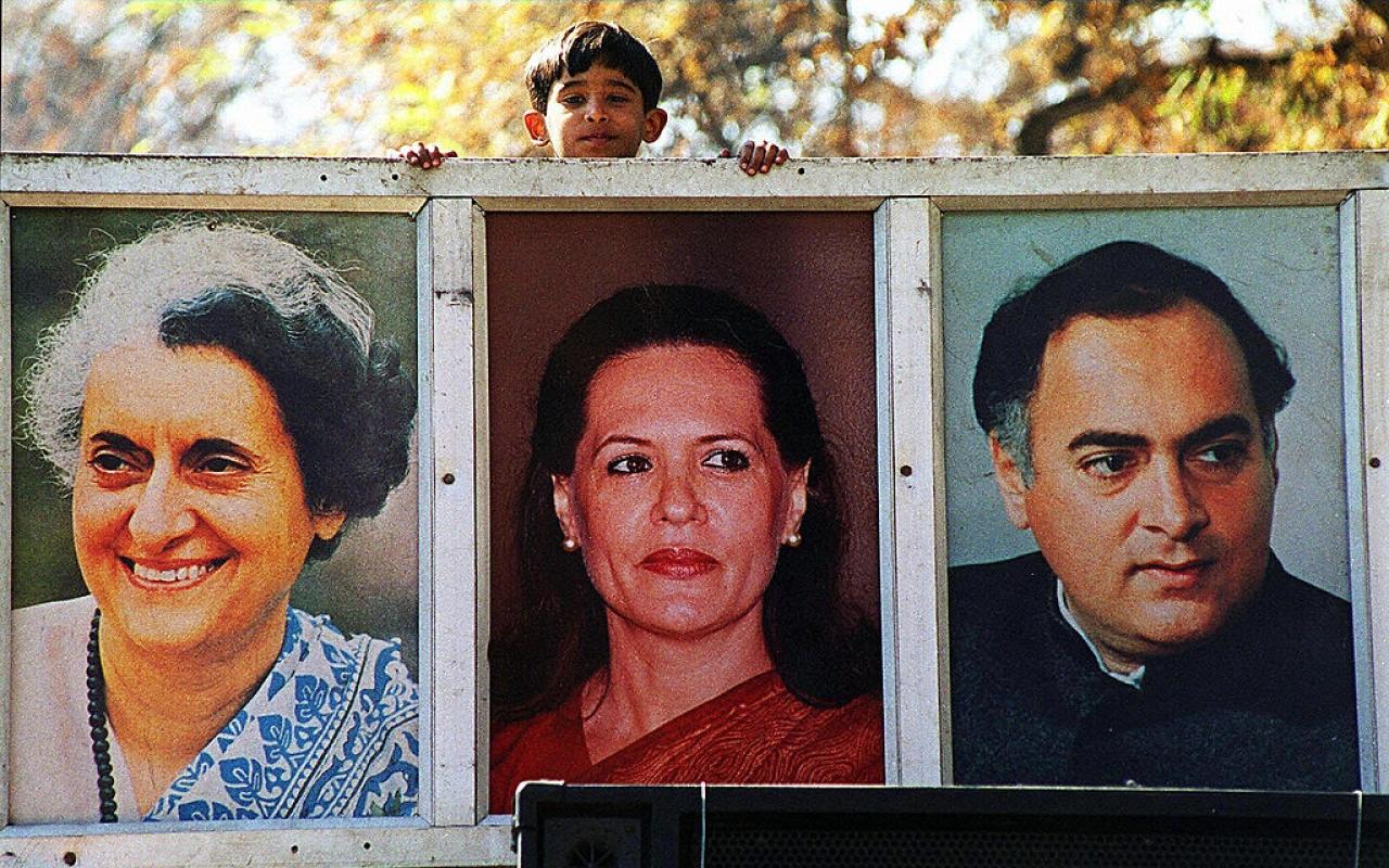 Indira Gandhi, Sonia Gandhi and Rajiv Gandhi