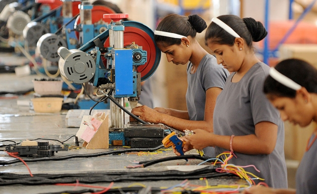 India manufacturing jobs (SAM PANTHAKY/AFP/GettyImages)