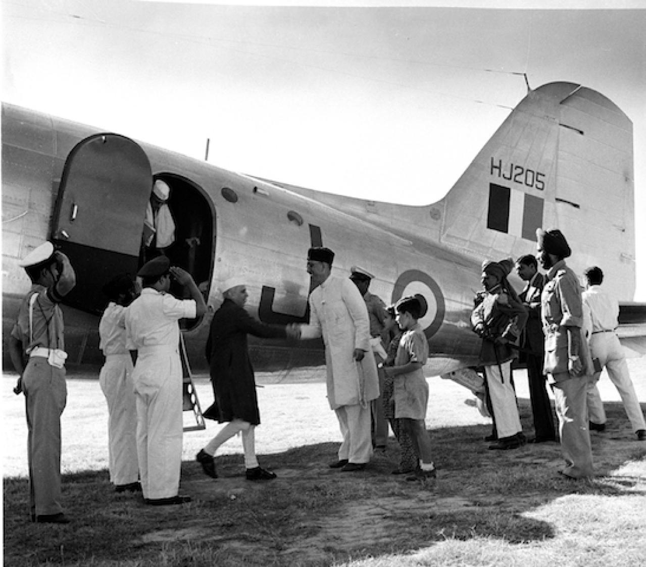 Pandit Nehru and President Sheikh Abdullah.Wikimedia
