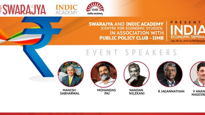 Announcement: India Economic Seminar On July 30-31