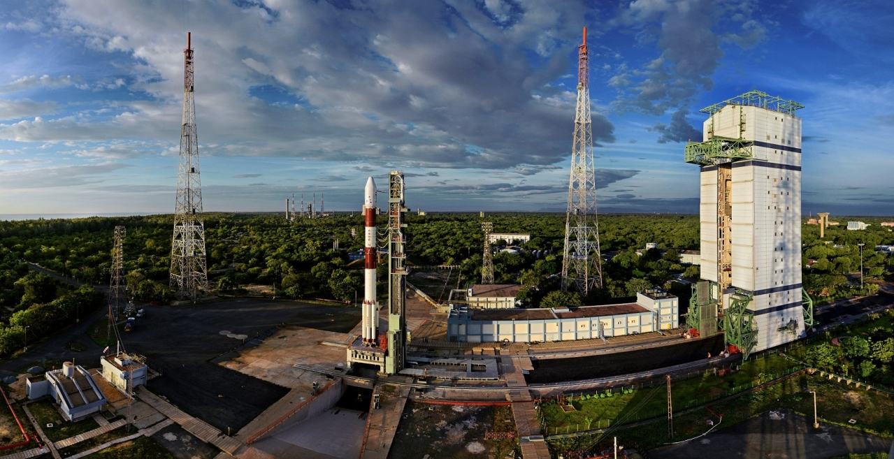 The Sriharikota launch pad. Photo credit: ISRO