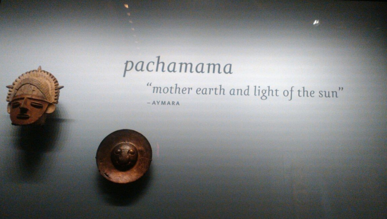 """Pachamama """"mother earth and light of the sun"""""""