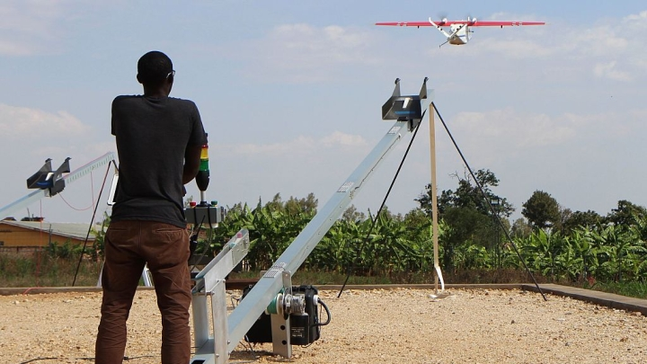 How The First-Of-Its-Kind Drone Delivery Service Is Proving Life-Saving For Rwandans