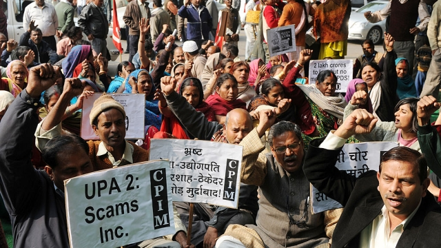 What Makes Indians Protest Most? Education And Corruption.