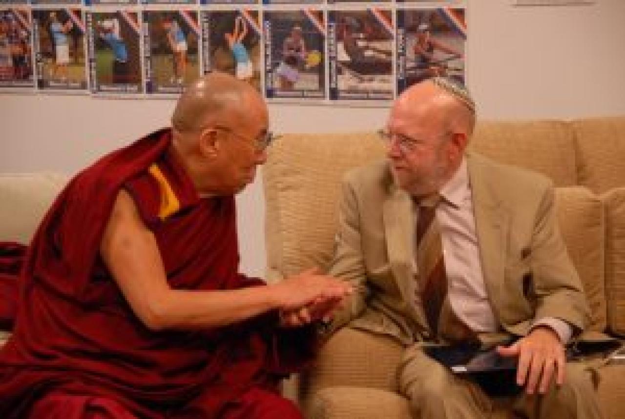 Dr Katz with Dalai Lama