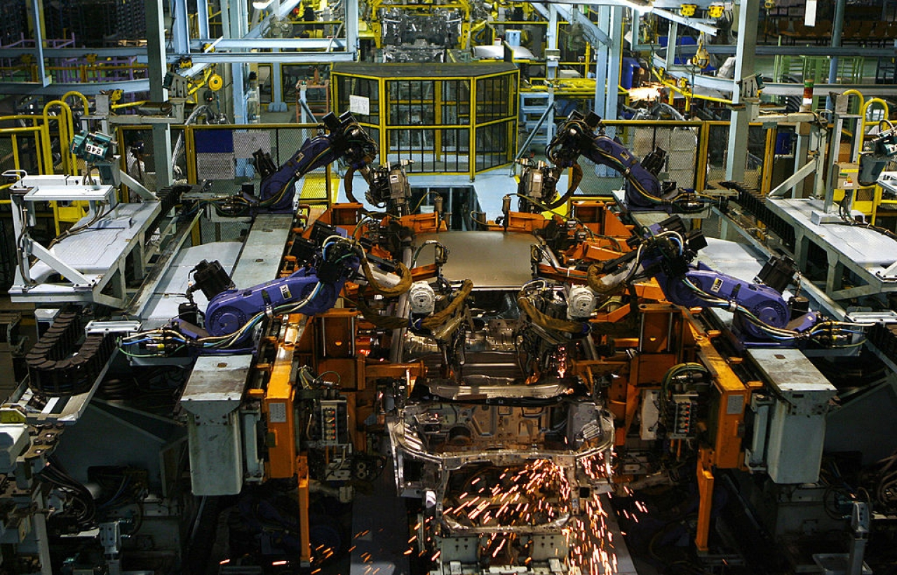 An Indian factory. (MANPREET ROMANA/AFP/Getty Images)