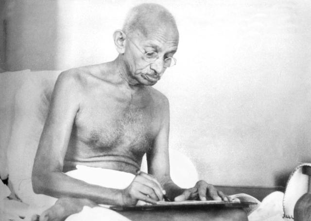 Mahatma Gandhi (Kanu Gandhi/Wikimedia Commons)