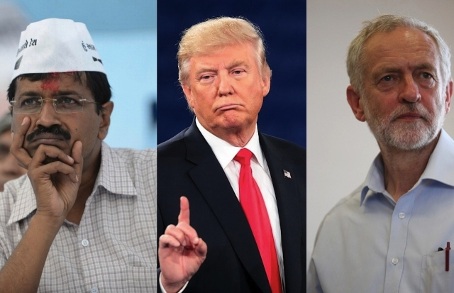 Kejriwal, Trump & Corbyn: How They Created A Cult And In The Process Destroyed Their Own Parties