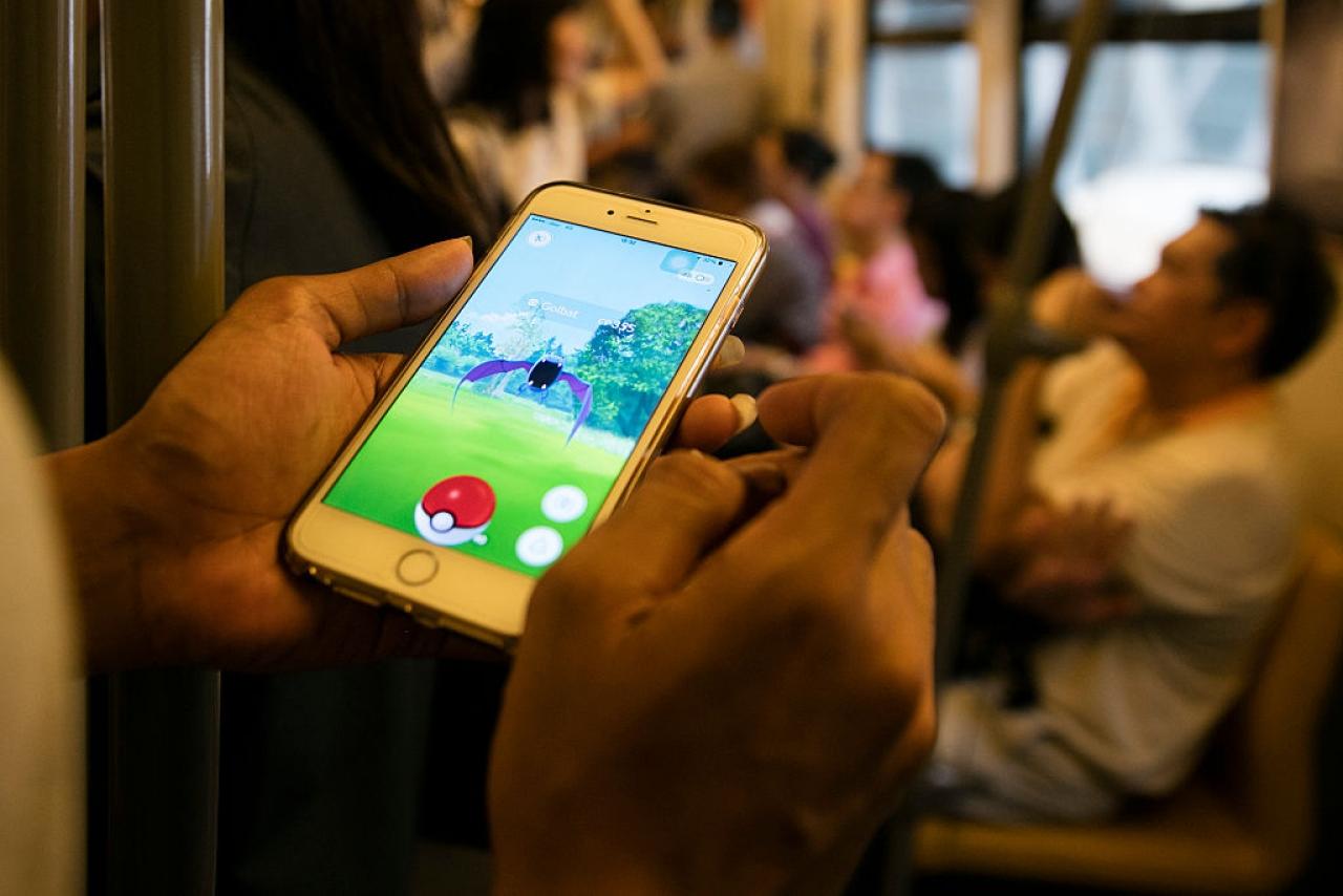 Pokemon Go (Paula Bronstein/ Getty Images)