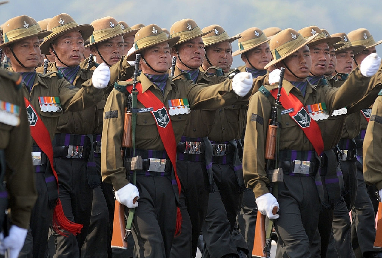 The Gorkhas (PRAKASH SINGH/AFP/Getty Images)