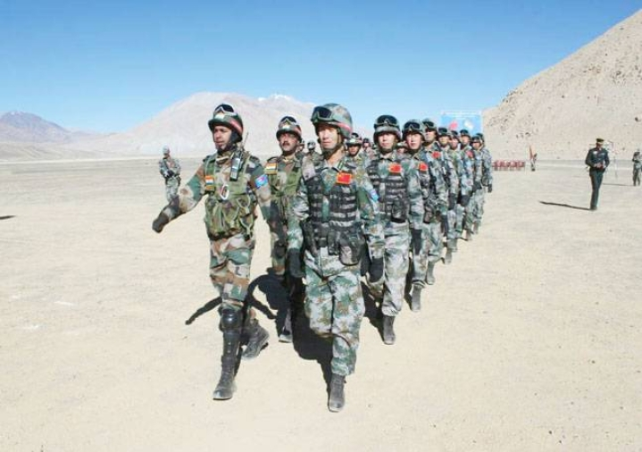 In A First, India And China Hold Joint Army Exercise In Eastern Ladakh