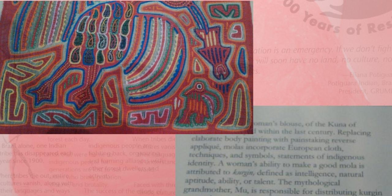 Mola – the manifestation of kurgin from Goddess Mu, Peabody Museum of Archaeology and Ethnology, Harvard University