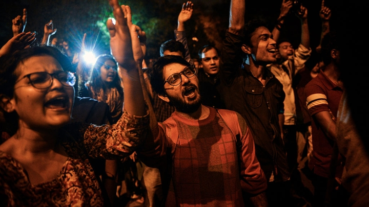 JNU Leftists Indulge In Rowdyism, 'Lock' Vice-Chancellor In Office