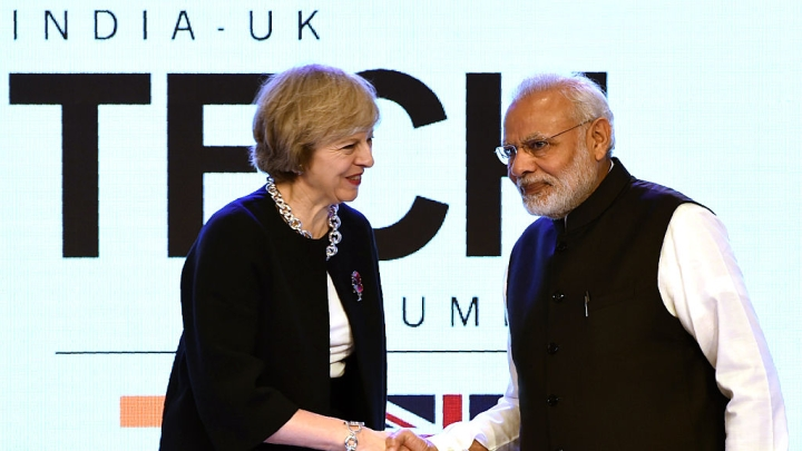 British PM Theresa May Promises To Make It Easier For Indian Businesspersons To Travel To UK