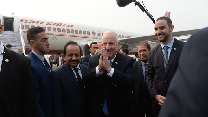 What To Expect From The Israeli President's Visit To India