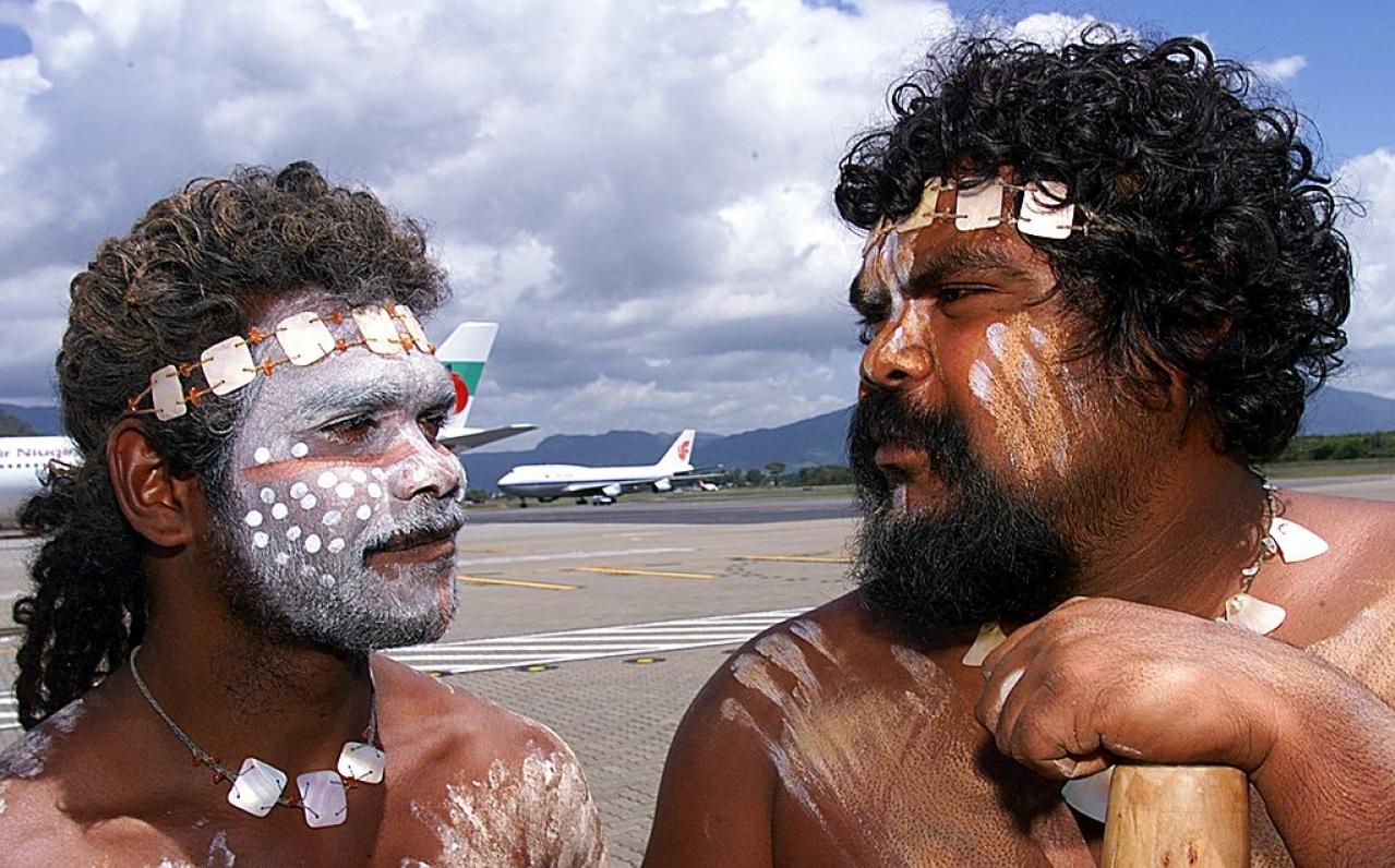 Aborigines in Australia (TORSTEN BLACKWOOD/AFP/Getty Images)