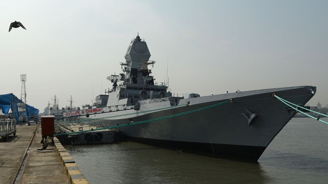Project 15A's Guided Missile Destroyer 'INS Chennai' To Come Into Service On 21 November