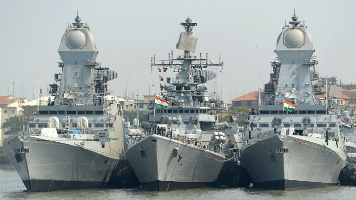 A Slight Embarrassment For The Indian Navy In International Exercises - They Don't Have Enough Helicopters