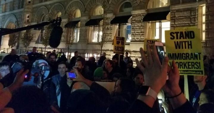 Democrats Protest President-Elect Donald Trump Nationwide
