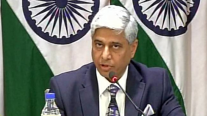 MEA Says  Talks And Terror Can't Go Together, Environment Has To Be Terror-Free