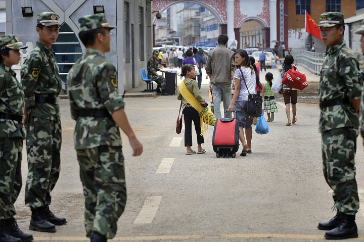 China's Army Increases Presence Along Its Southern Border With Myanmar