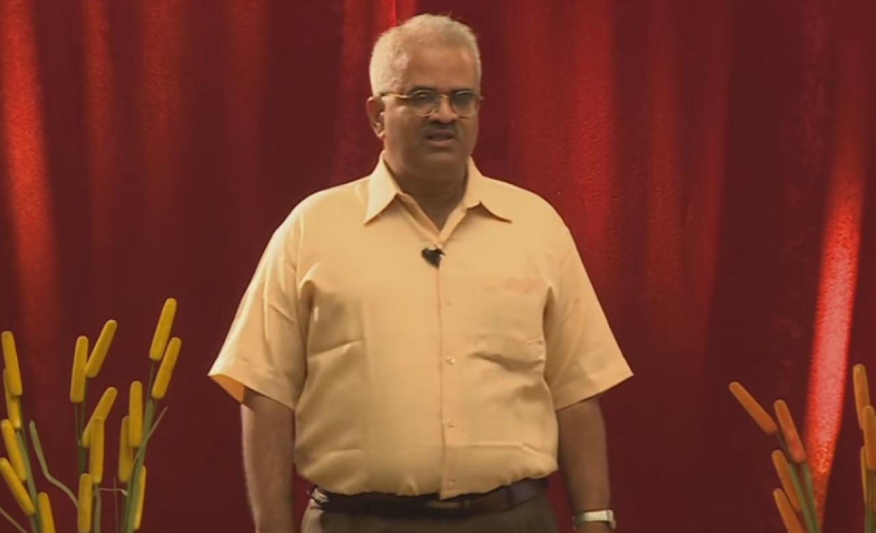 Leading Indic scholar Shrikant Talageri. Photo credit: YouTube