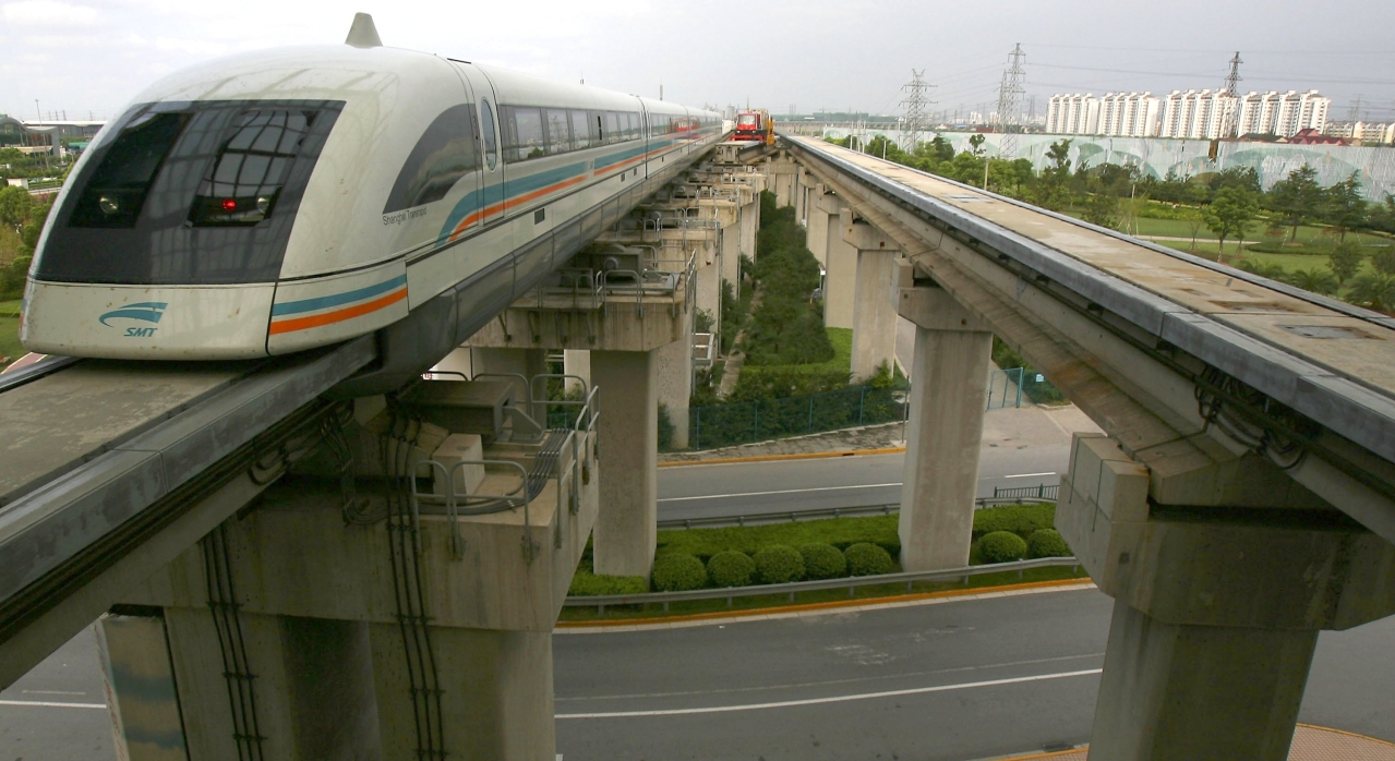 Shanghai Transrapid Maglev Train (Photo by China Photos/Getty Images)