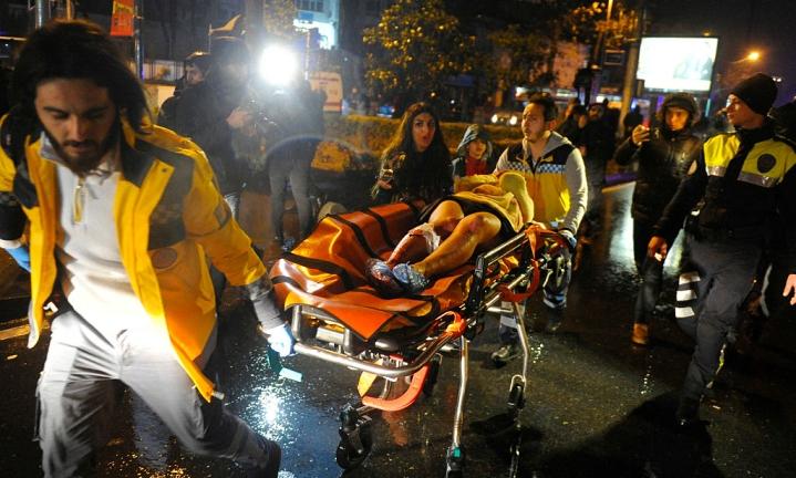 New Year Horror: 39 Die In Attack On Istanbul Nightclub