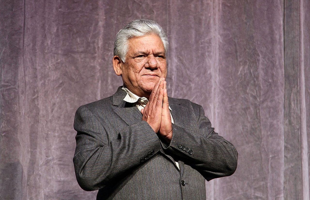 Actor Om Puri at the 'West Is West' premiere held at Roy Thomson Hall during the 35th Toronto International Film Festival in 2010. (Photo by Vito Amati/Getty Images for Icon)