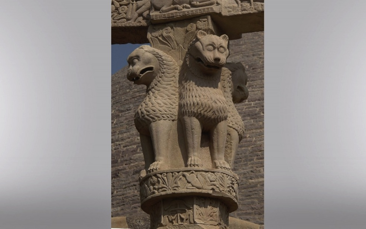 The Lion capital (Yann/Wikimedia Commons)