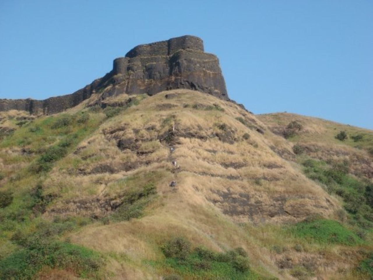 The Marathas prevailed, primarily, because of the forts