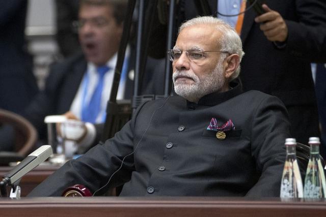Narendra Modi (Mark Schiefelbein - Pool/Getty Images)